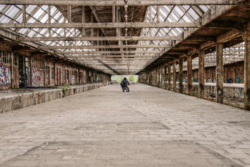 Lost Place, Concourse, Old