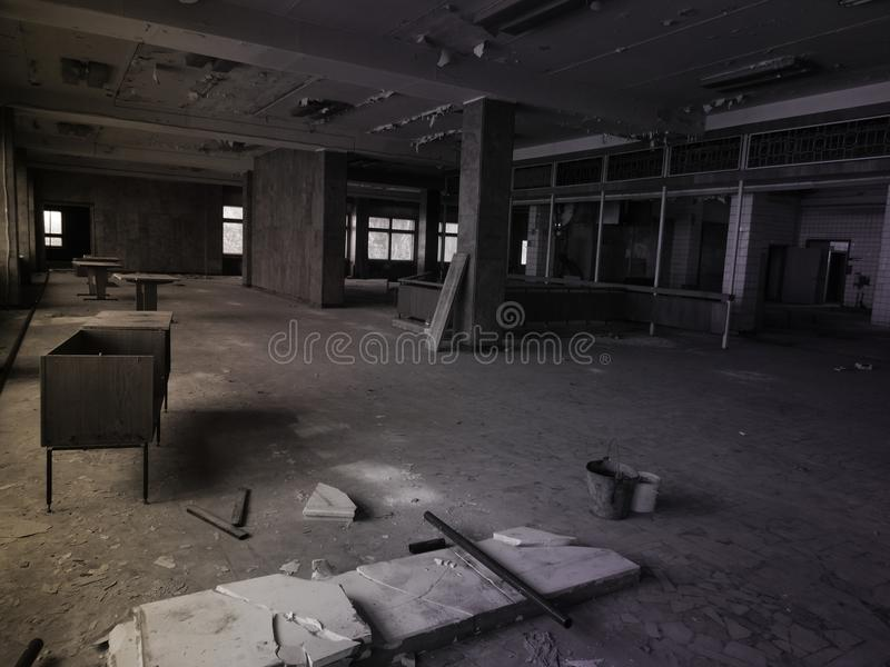 Lost places. abandoned building. royalty free stock photography