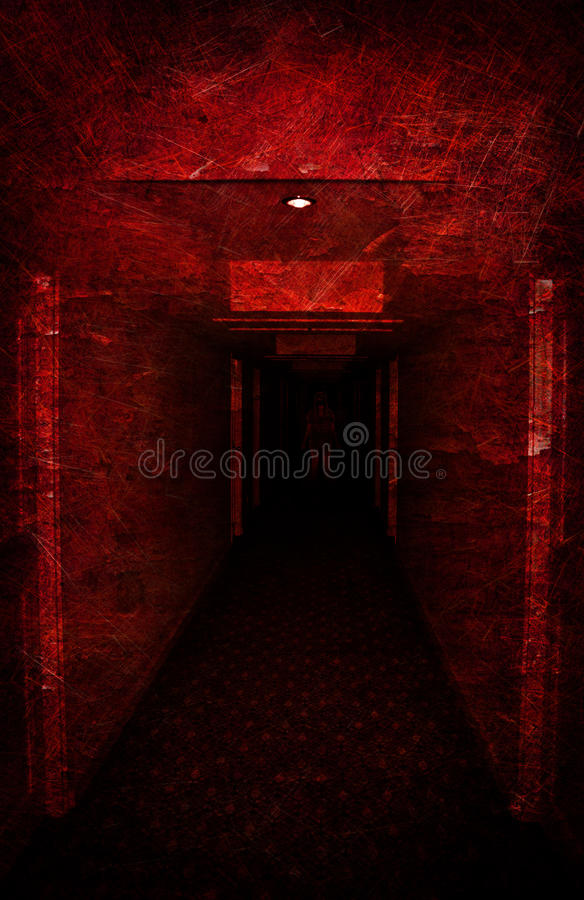Download Lost In Spooky Dirty Corridor Royalty Free Stock Photography - Image: 21343857