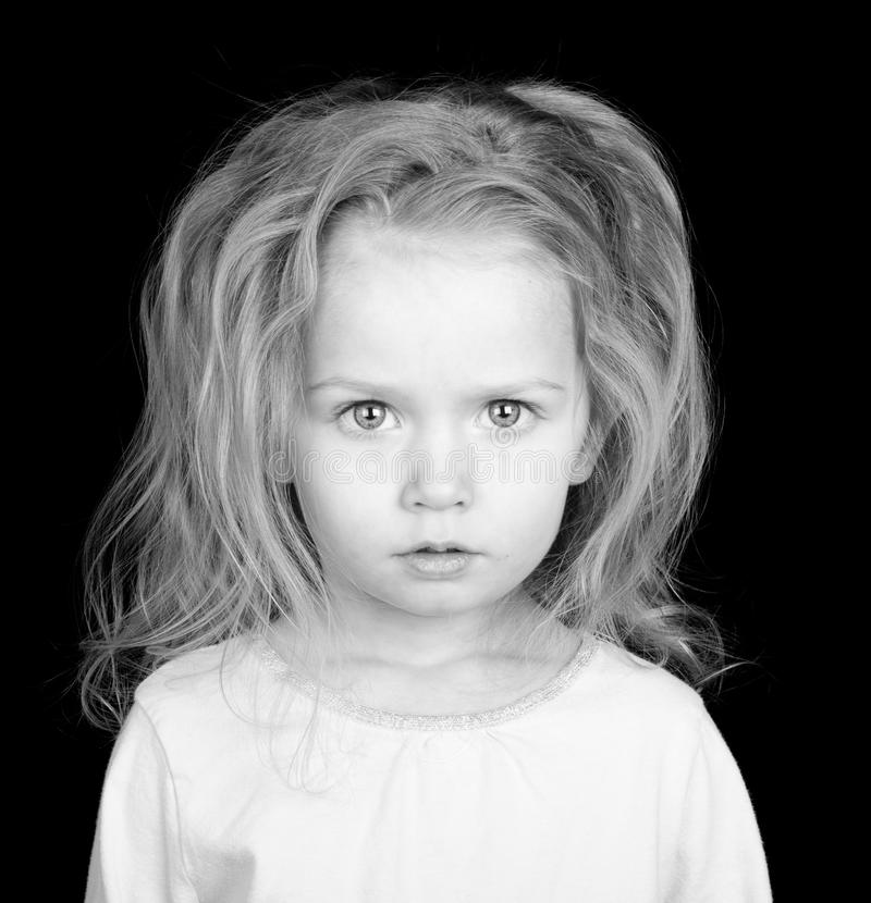 Lost Starving Child royalty free stock photography
