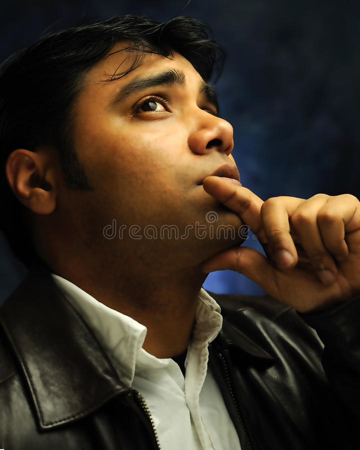 Download Lost in thought stock photo. Image of contemplating, face - 11746654