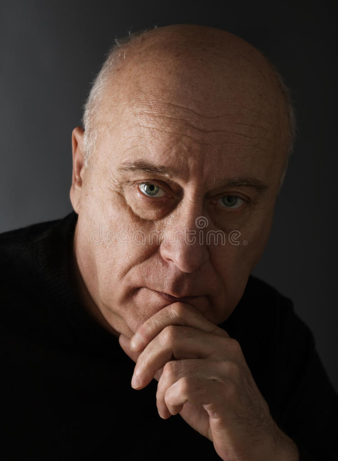 Download Lost in thought stock image. Image of problems, serious - 12503417