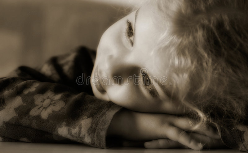 Download Lost in thoughts stock photo. Image of dreamful, girl - 2908686