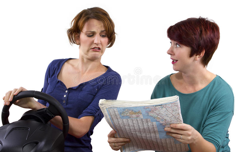 Download Lost Tourists stock image. Image of adult, steering, direction - 34196799