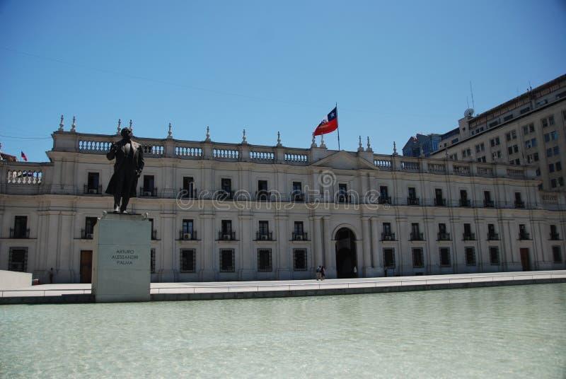 losu angeles moneda palacio Santiago obrazy royalty free