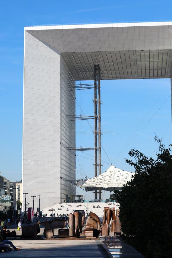 Losu Angeles Obrończy grande arche Piękny widok fotografia stock