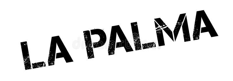 Losu Angeles Palmy pieczątka royalty ilustracja