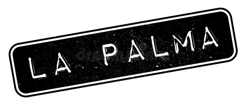 Losu Angeles Palmy pieczątka ilustracji
