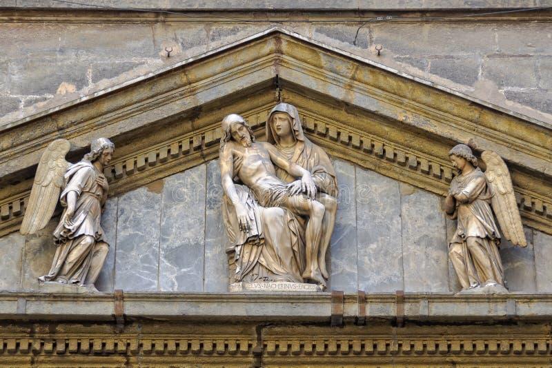 Losu Angeles Pieta - Napoli obraz stock