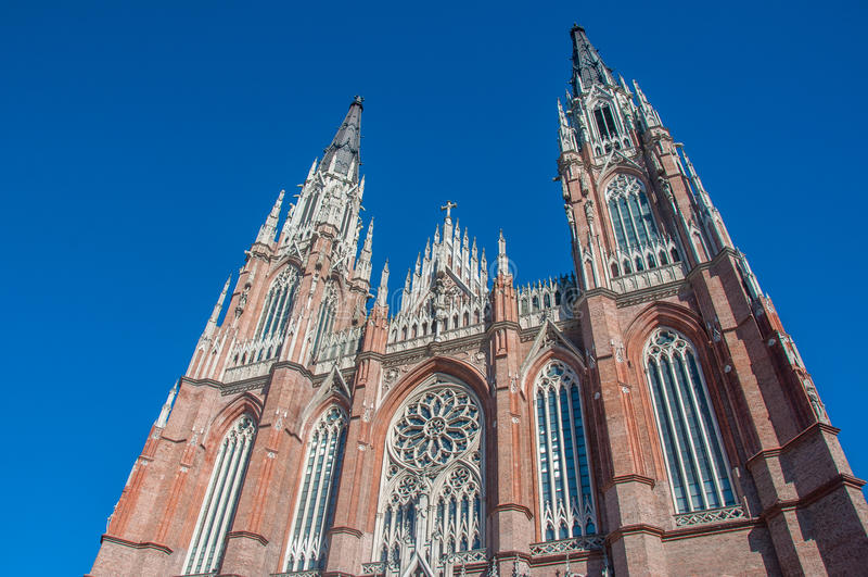 Losu Angeles Plata Ogromna katedra blisko Buenos Aires, Argentyna zdjęcie royalty free