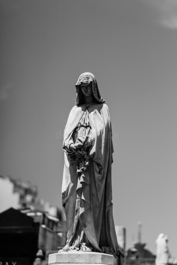 Losu Angeles Recoleta cmentarz aires Argentina buenos zdjęcie royalty free