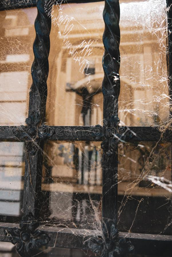 Losu Angeles Recoleta cmentarz w Buenos Aires fotografia royalty free