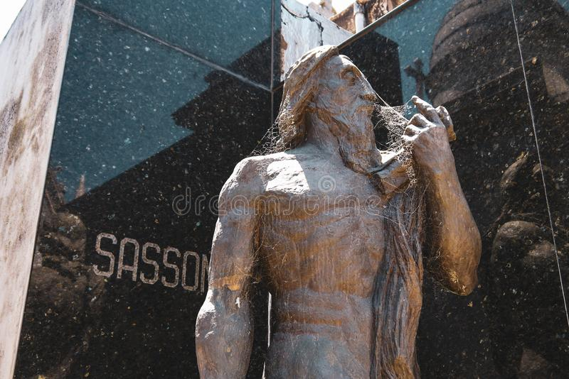 Losu Angeles Recoleta cmentarz w Buenos Aires obrazy royalty free