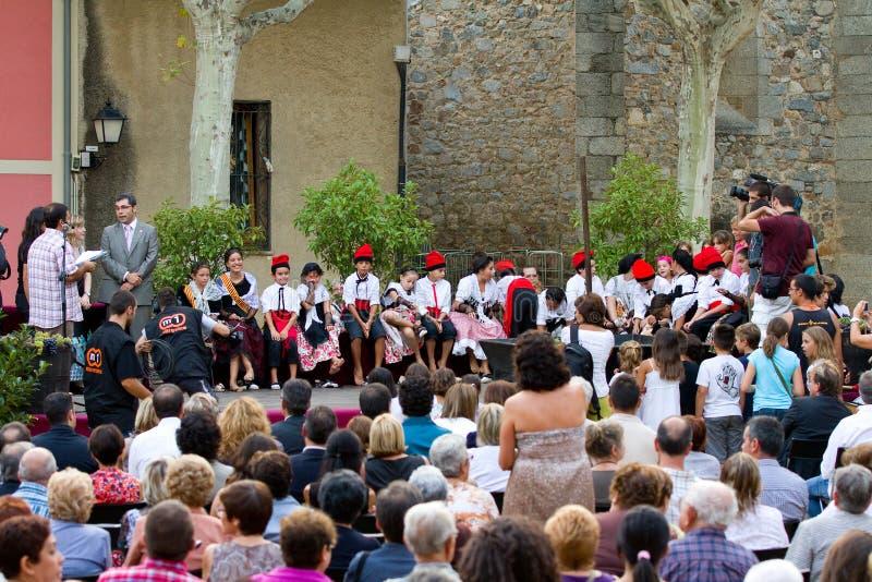 Losu Angeles Verema festiwal, Alella zdjęcie stock