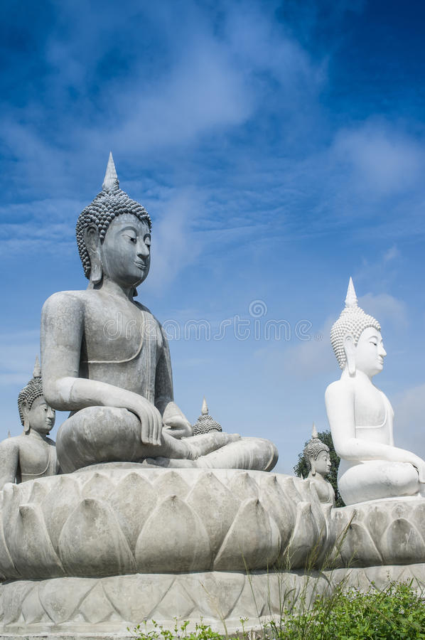 Download Lot of Buddha Statue stock image. Image of devotion, meditation - 27660175