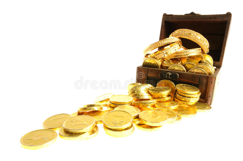 Lot of gold stock photo