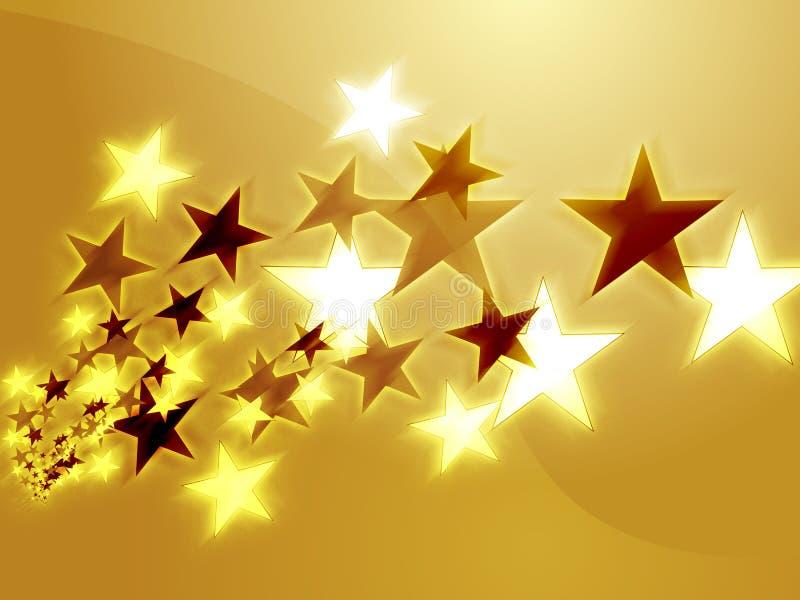 lot gwiazd ilustracji
