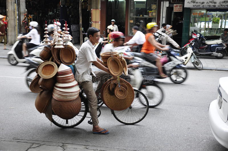 Download Lot of hats editorial image. Image of busy, large, oriental - 16860580