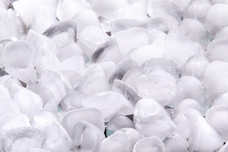 It is a lot of ice cubes. It is a lot of frosty ice cubes royalty free stock photo