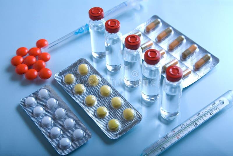 Lot Medizin stockbild