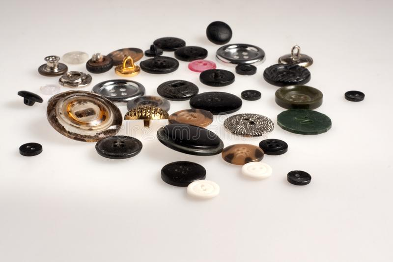 Download Lot Of Miscellaneous Buttons Stock Image - Image of fashion, button: 13679949