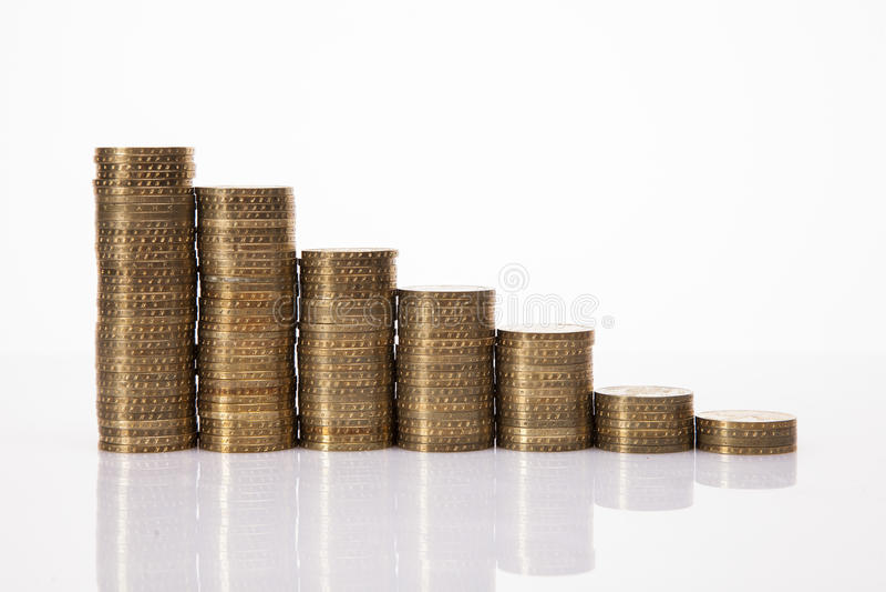 Lot Of Money! Coins Stock Photos
