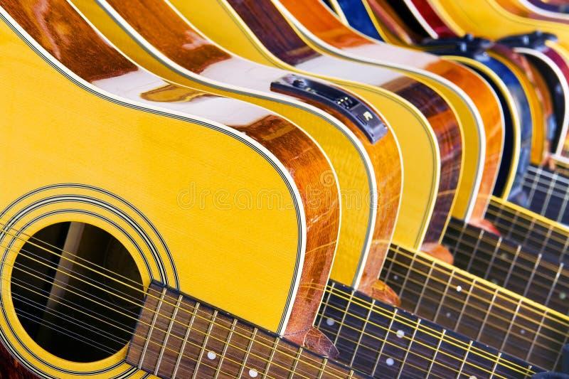 Lot Musik stockfotografie