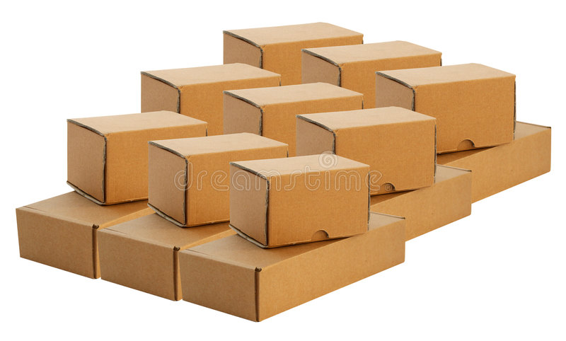 Lot of paper packet royalty free stock photo