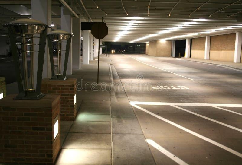 lot parking underground στοκ εικόνες