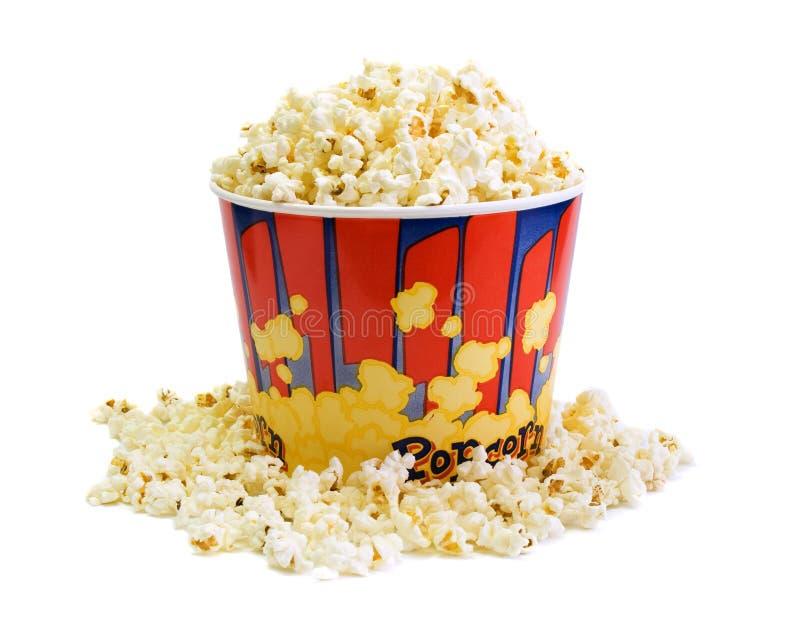 Lot Popcorn stockfotos