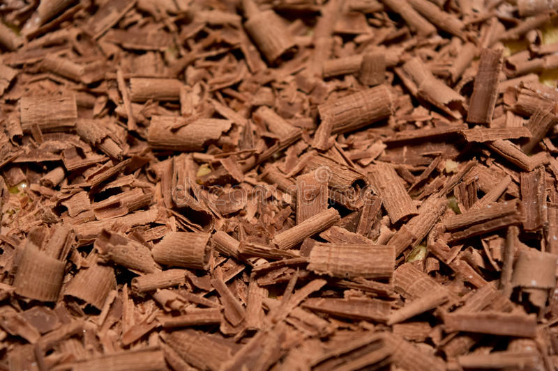 A lot of rolled chocolate stock photos