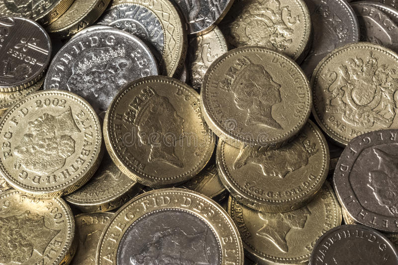 A lot of shiny and vibrant pounds stock images