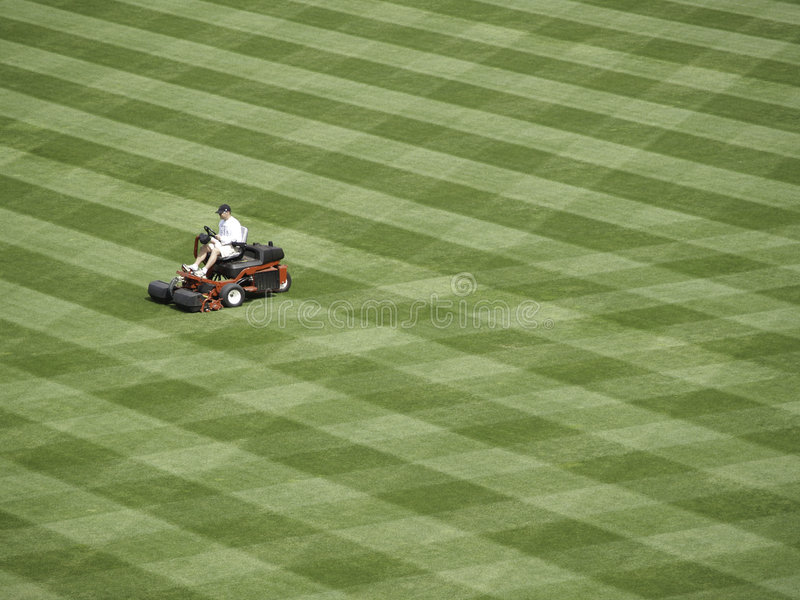 A lot to mow. royalty free stock photography