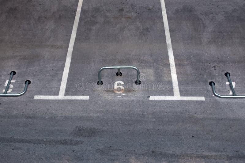 Lote de estacionamento fotos de stock