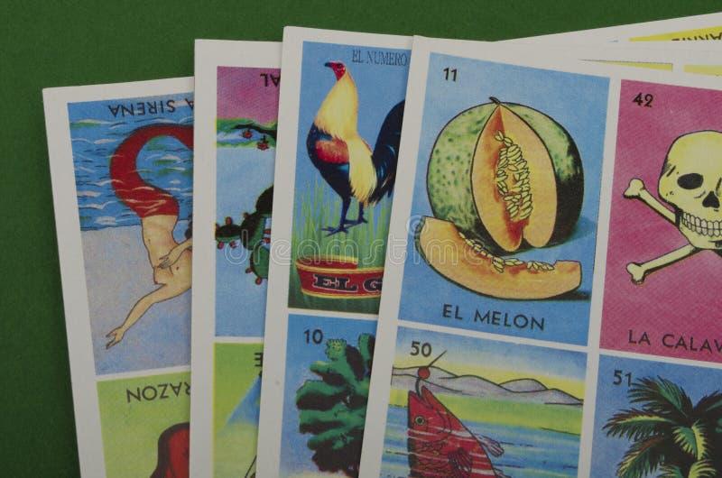 Loteria mexicana imagem de stock royalty free