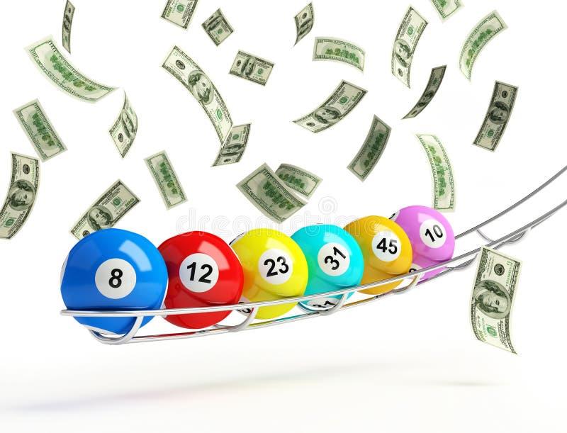 Loterie illustration de vecteur