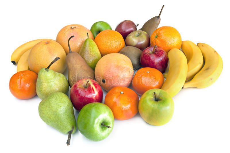 Lotes da fruta foto de stock royalty free