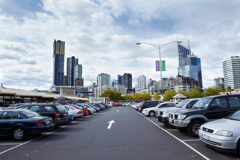 Lotes de estacionamento imagem de stock royalty free