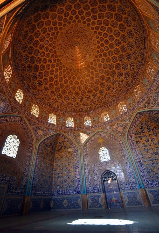 Lotfollah Mosque stock image