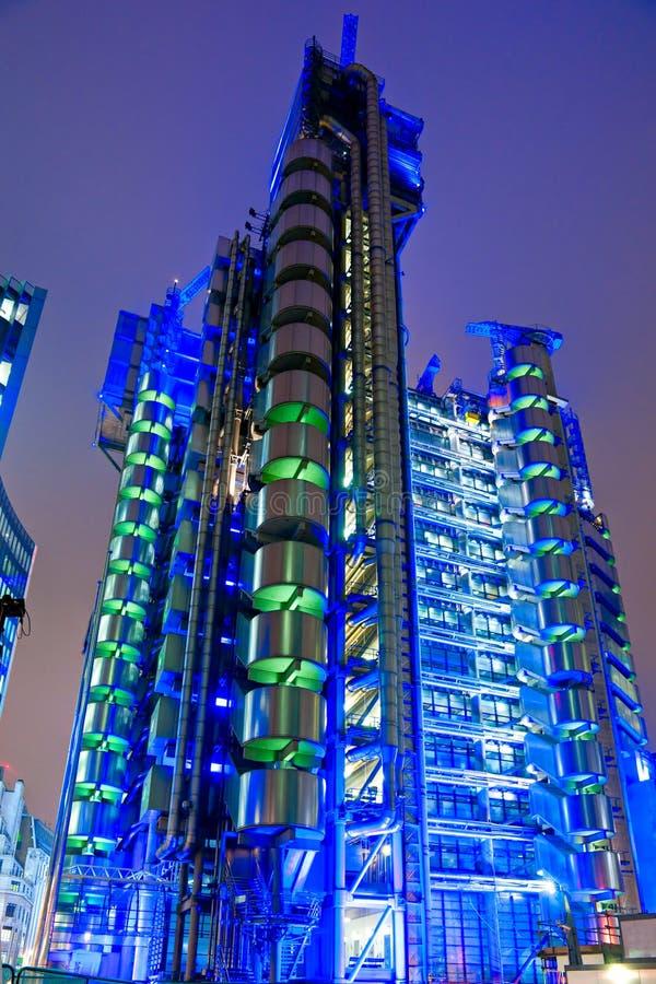LOThe Lloyd construisant Londres. photographie stock