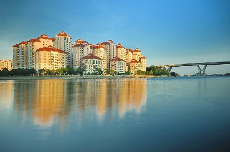 Lotissement de Singapour photographie stock libre de droits