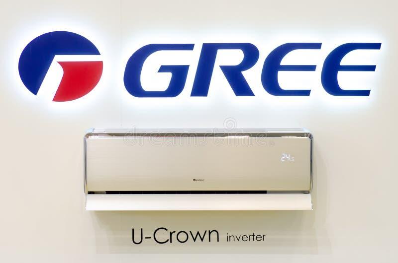 Lotnicza Conditioner GREE korona obraz stock