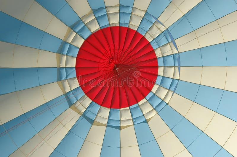lotniczego balonu baldachimu gorący inside zdjęcia royalty free