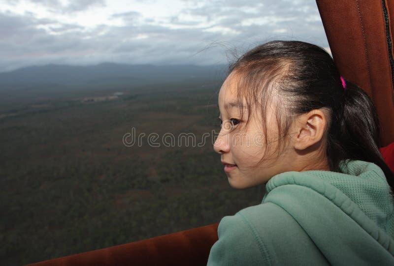 lotniczego balonu dziecka chińczyk gorący fotografia royalty free