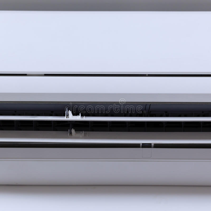 lotniczego conditioner ilustracyjny rozszczepiony system obrazy stock