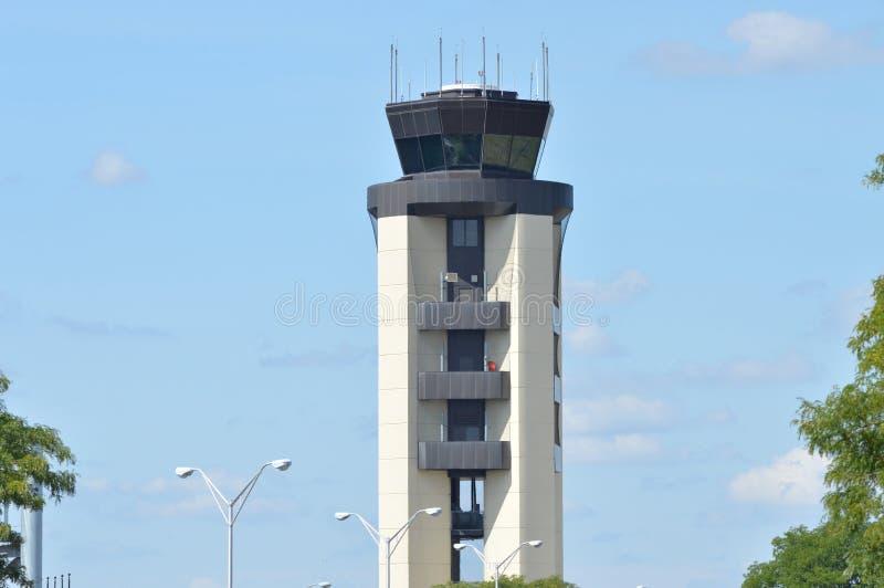 lotniczy Amsterdam kontrolny międzynarodowy Schiphol wierza ruch drogowy zdjęcia royalty free