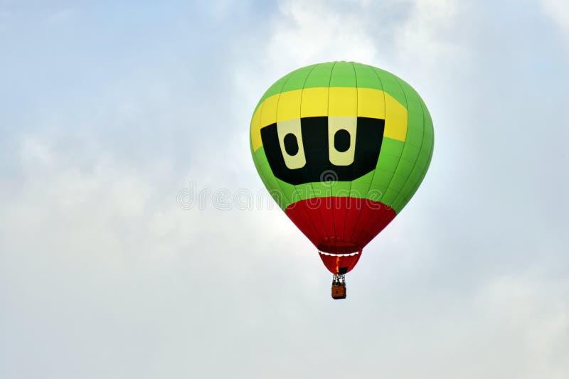 lotniczy balon chmurnieje gorącego światło zdjęcie royalty free