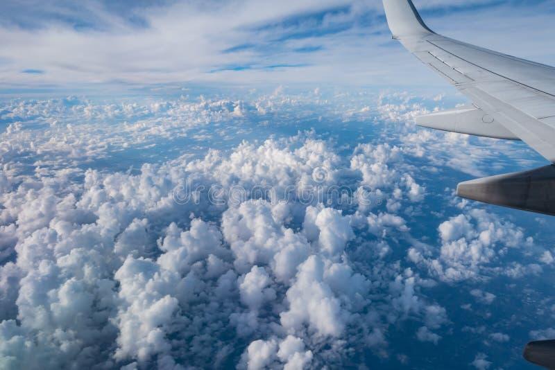 lotniczy cloudscape widok obraz royalty free