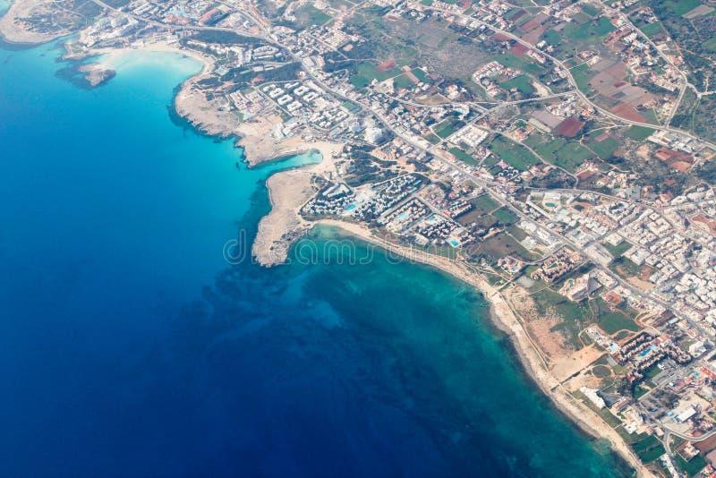 Lotniczy Cypr obrazy stock