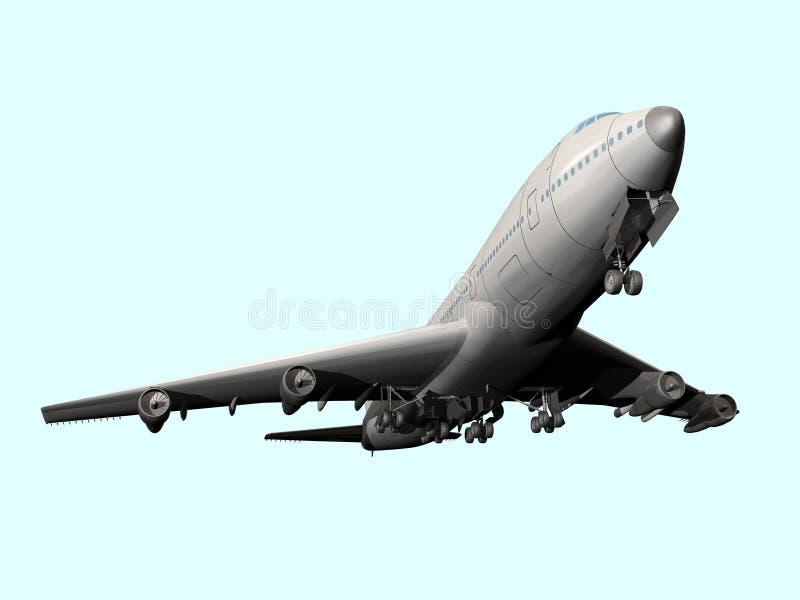 Lotniczy liniowiec ilustracja wektor